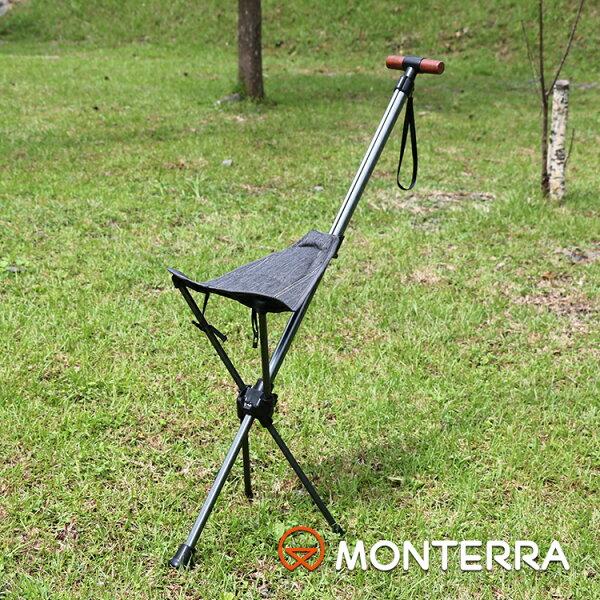 Monterra輕量鞍型折疊騎馬椅SaddleI-3城市綠洲(摺疊、折疊、露營桌椅、韓國品牌)