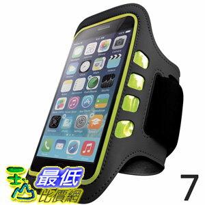 [106美國直購] iPhone 手臂帶含LED燈 Iphone 7 Armband Great for Running Sports and Workout With Home Button Touch