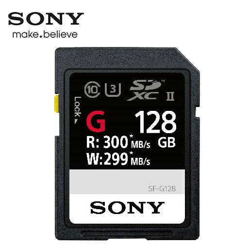 [富廉網]【SONY】SDXCUHS-IIC10300MBs128GBG系列記憶卡(SF-G128)