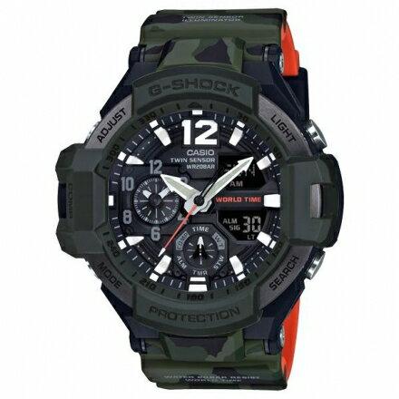 G-SHOCKGA-1100SC-3A智慧型飛行腕錶GA-1100SC-3ADR【迪特軍】