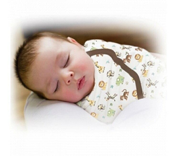 Summer Infant SwaddleMe 懶人包巾0~3m S號 動物園 - 限時優惠好康折扣