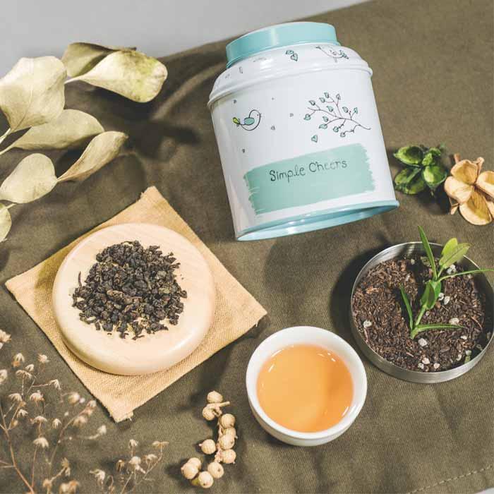 貢茶!人氣鐵罐茶包禮盒(3口味)
