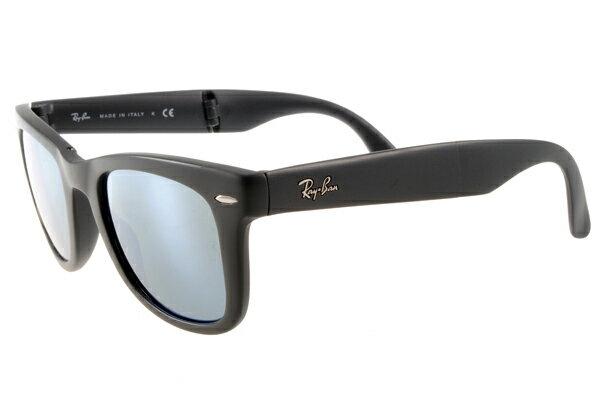 Ray Ban 雷朋 水銀鏡 霧黑 太陽眼鏡 RB4105 摺疊 4