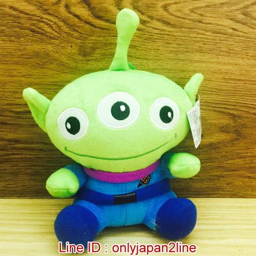 【真愛日本】17011000002全身吊娃-8吋三眼怪    迪士尼 玩具總動員 TOY 娃娃 絨毛 擺飾