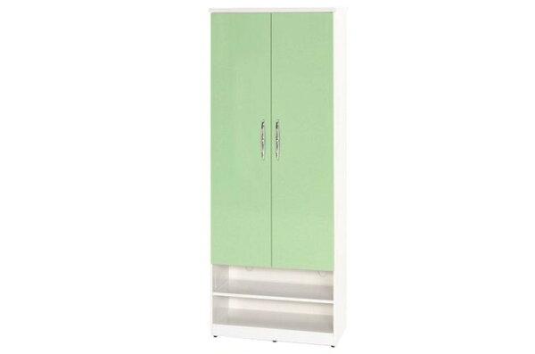 石川家居:【石川家居】881-03(綠白色)鞋櫃(CT-327)#訂製預購款式#環保塑鋼P無毒防霉易清潔
