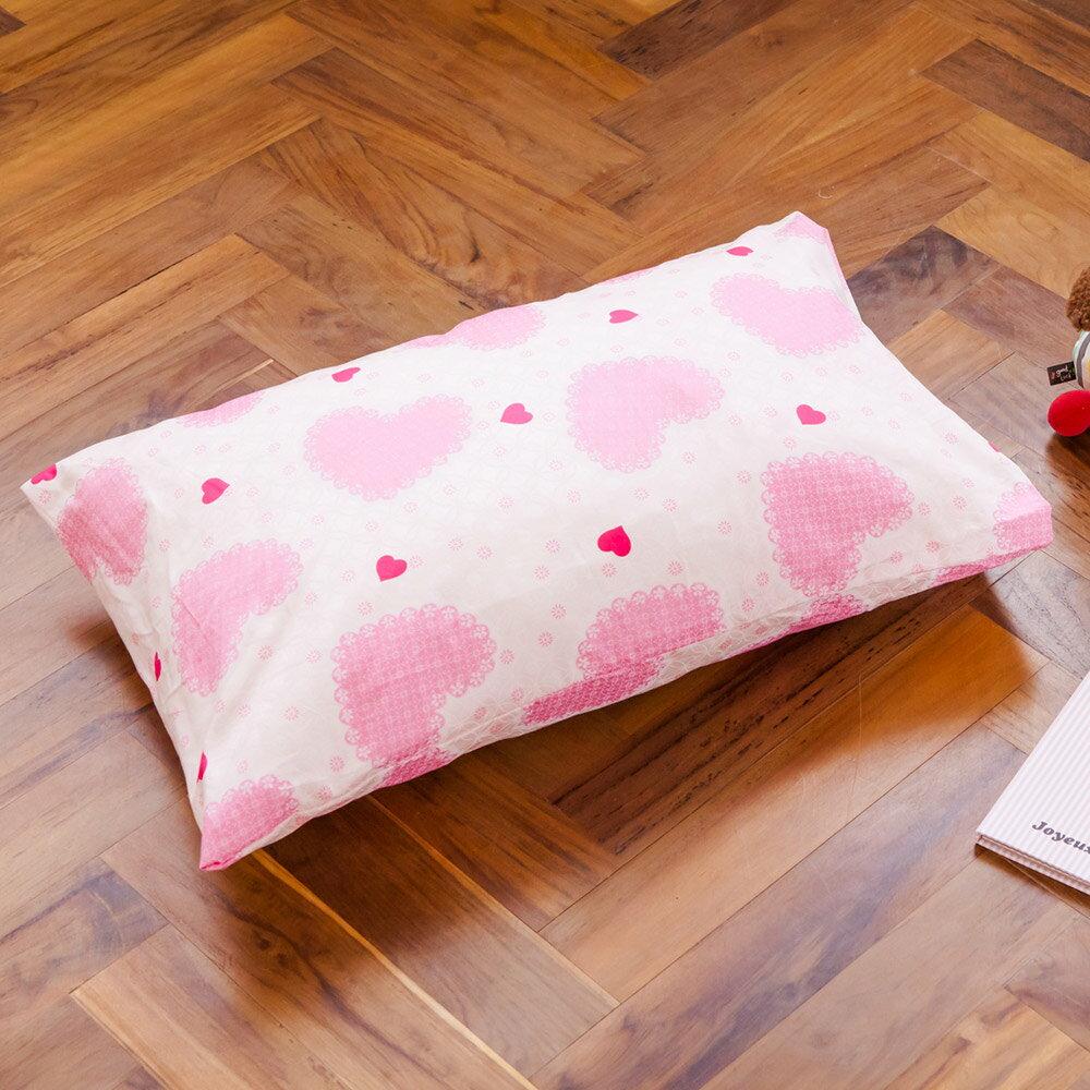 枕頭  兒童枕~防蹣抗菌纖維枕  精梳棉  夢幻公主  美國棉 品牌^~鴻宇^~ 製~17