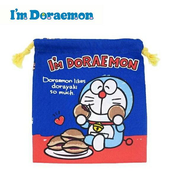 銅鑼燒款【日本正版】哆啦A夢束口袋收納袋抽繩束口袋小叮噹DORAEMON三麗鷗Sanrio-465025