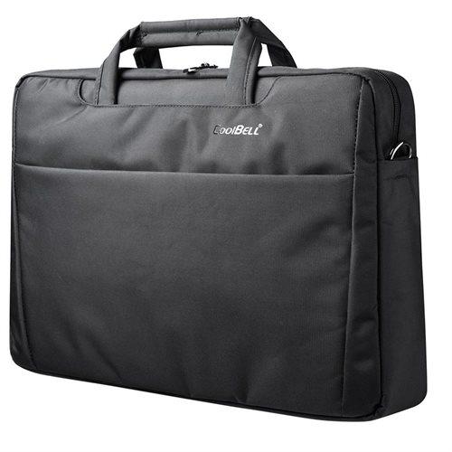 "CoolBELL 17.3"" Laptop Notebook Handbag Messenger Sleeve Case Bag Briefcase Bubble Pad 2"