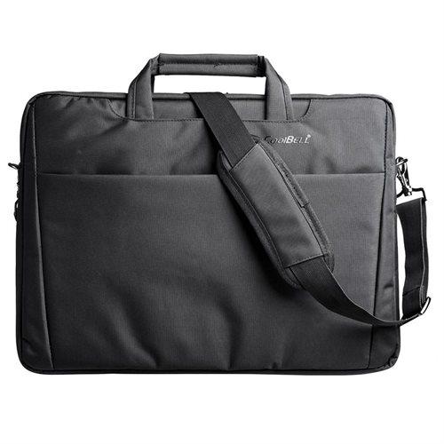 "CoolBELL 17.3"" Laptop Notebook Handbag Messenger Sleeve Case Bag Briefcase Bubble Pad 1"