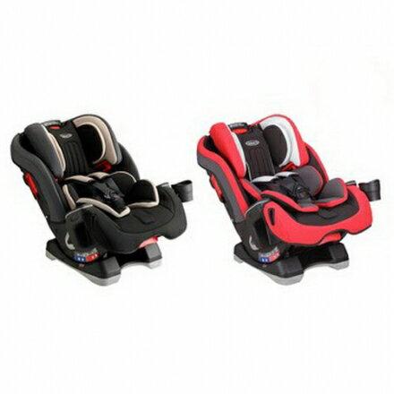 【GRACO】MILESTONE™0-12歲長效型嬰幼童汽車安全座椅-灰/紅