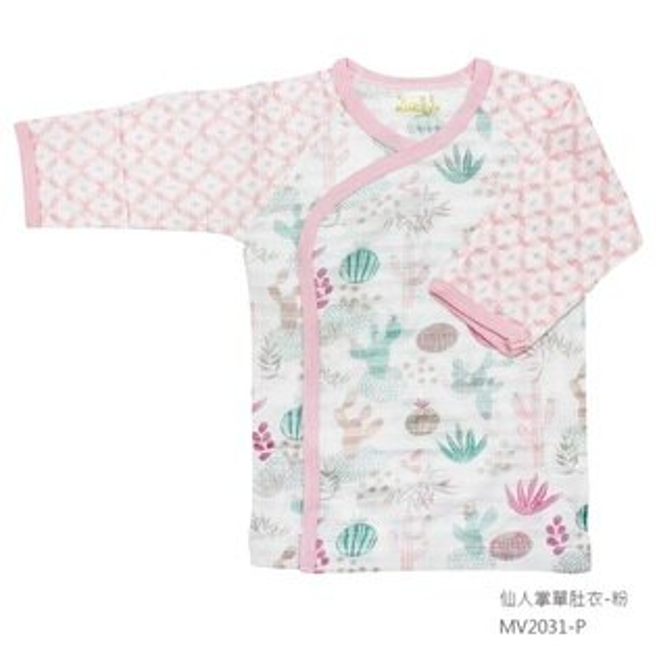 【春夏款】台灣【米諾娃MINERVA】【仙人掌系列】肚衣(藍灰粉)