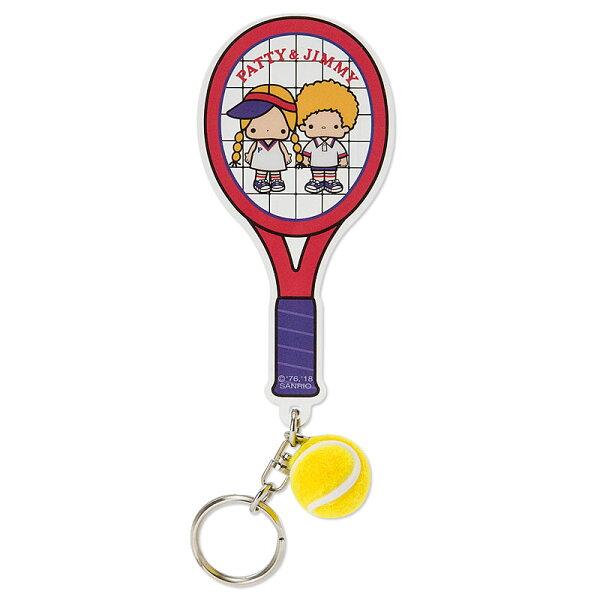 【真愛日本】4901610383001壓克力鑰匙圈-PJ網球ACQ帕蒂吉米三麗鷗鑰匙圈吊飾鎖圈