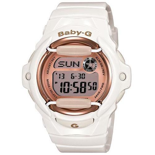 Casio Baby G White Digital Dial Women's Watch - BG169G-7 0