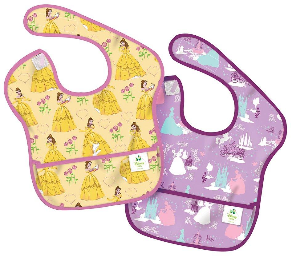 美國 bumkins 防水兒童圍兜2入組 公主 DPR2 6-24個月 無袖 *夏日微風*