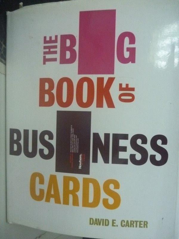~書寶 書T2/廣告_ZCI~The Big Book of Business Cards