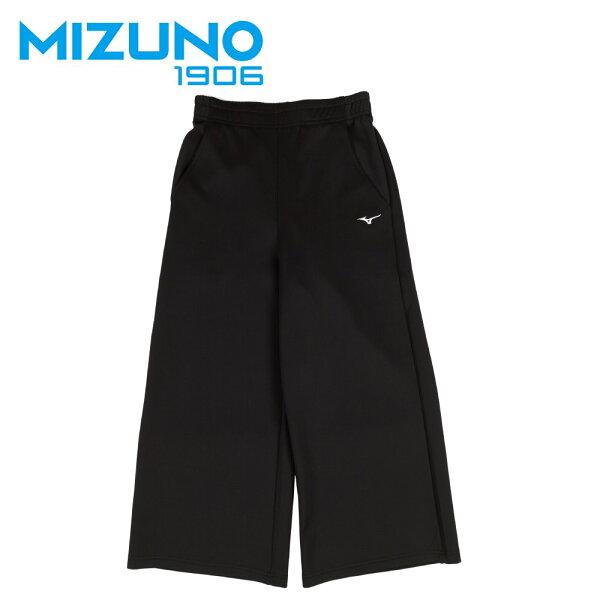 【登瑞體育】MIZUNO女款休閒八分寬褲_D2TD873509