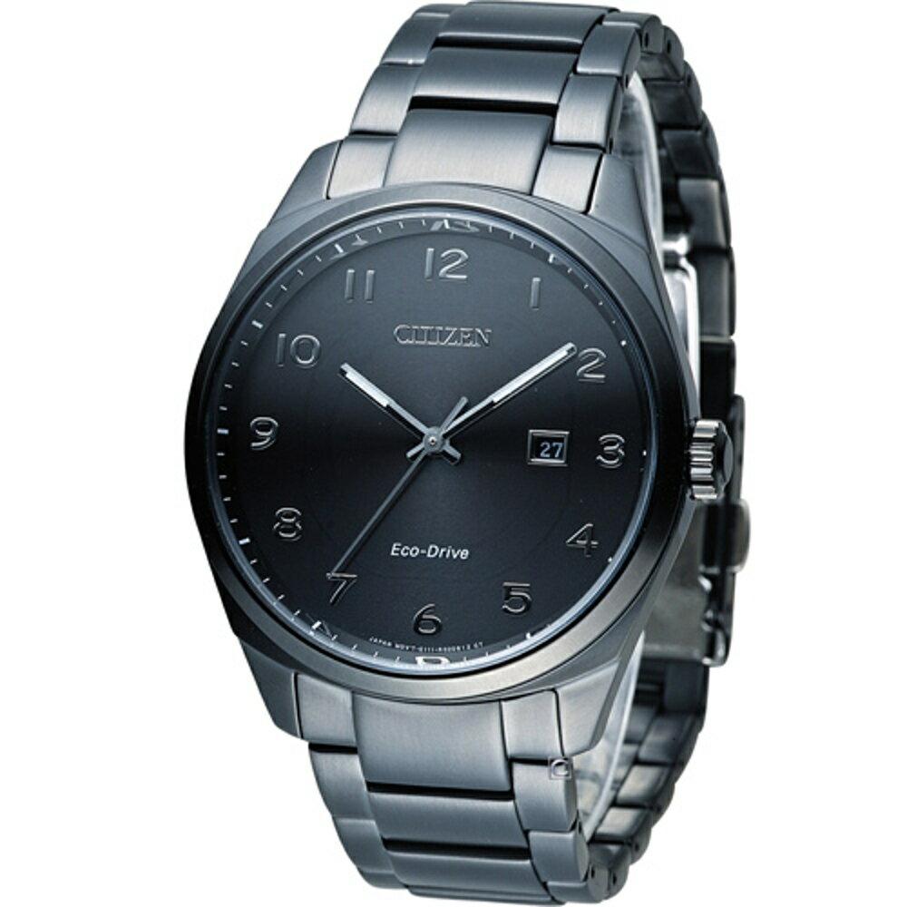 寶時鐘錶 星辰 CITIZEN Eco-Drive 光動能紳士時尚腕錶 BM7325-83E