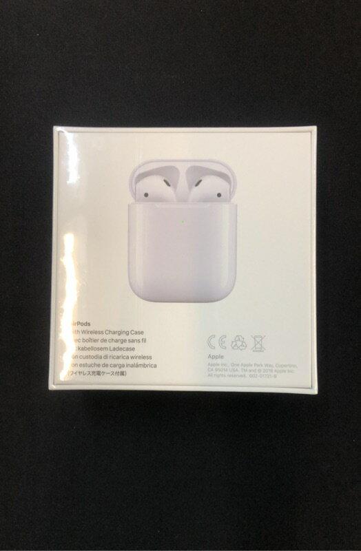 7-11免運-現貨~APPLE AirPods 2代 藍牙無線耳機 有線 / 無線充電盒 全新未拆封台灣公司貨 3