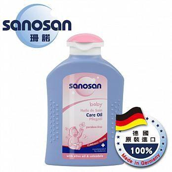 【Sanosan珊諾】寶寶潤膚按摩油 200ml 0