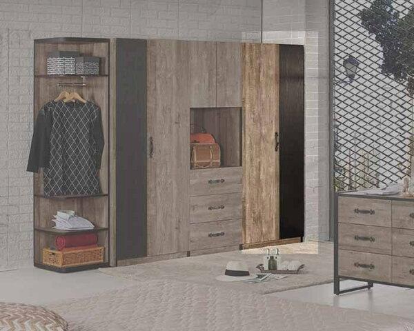 尚品傢俱:【尚品傢俱】CM-011-4格雷森2.6尺衣櫥(單吊)