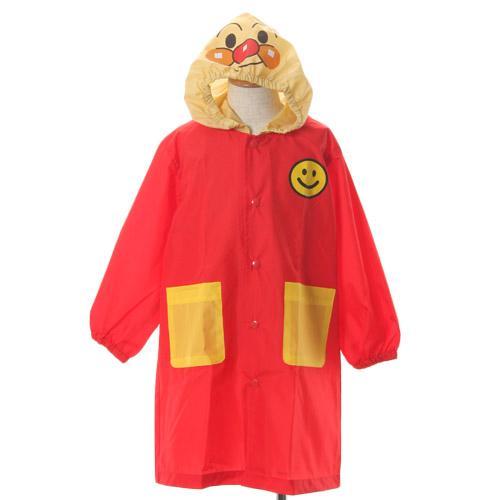 日本代購預購 麵包超人 anpanman 兒童雨衣 下雨天 雨衣袋 造型雨衣 100cm 707-068