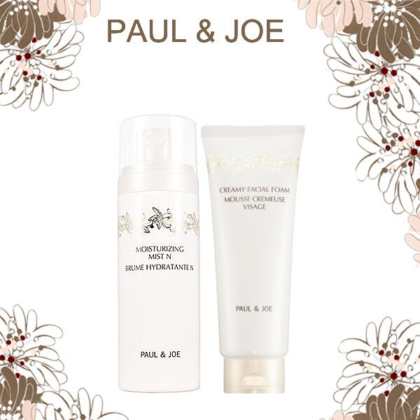 PAUL&JOE 橙花保濕水雲霧潔顏乳霜 雙瓶特惠組《Umeme》