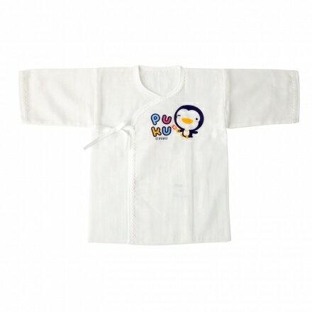 【藍色企鵝】PUKU 紗布肚衣50cm(白色.藍色.粉色)