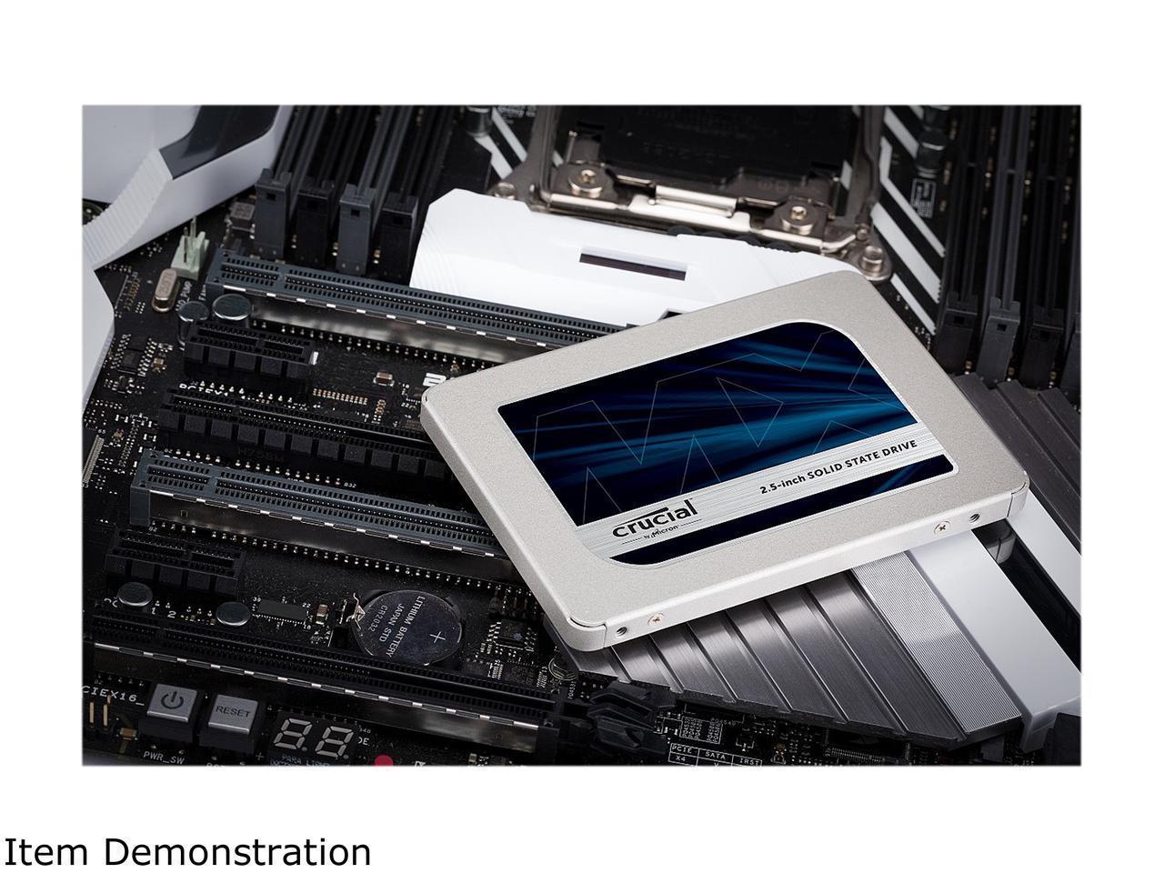 Crucial 500GB SSD MX500 2 5