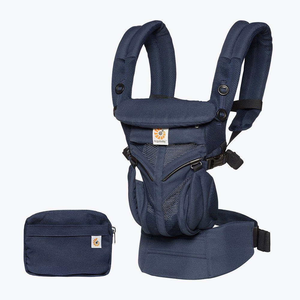 Ergobaby Omni全階段型四式360透氣款嬰兒揹巾/揹帶-午夜藍