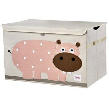 加拿大 3 Sprouts玩具收納箱-小河馬★愛兒麗婦幼用品★