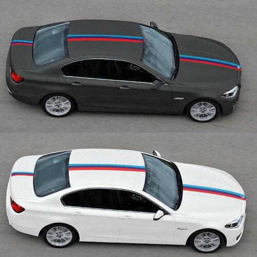 沂軒精品:BMW寶馬M三色車身貼隨意貼車門貼F20E46E90E92F30E39E60E89F10