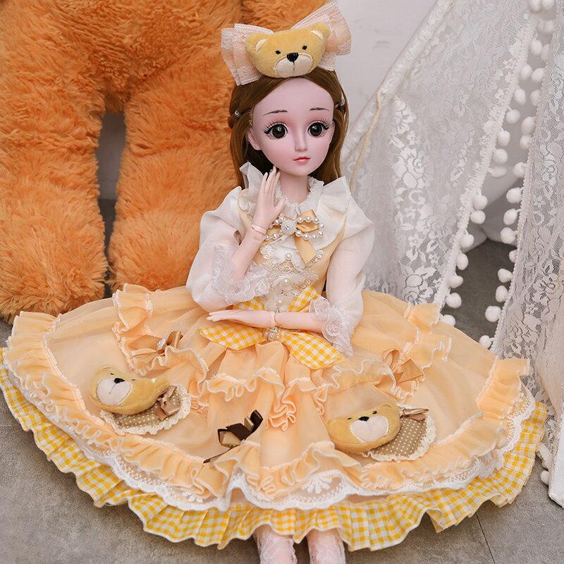 芭比娃娃 乖乖芭比娃娃大號公主超大60厘米會說話的洋娃娃女孩玩具套裝禮盒T【全館免運 限時鉅惠】