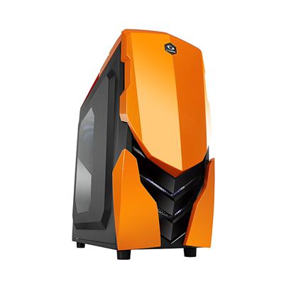 【迪特軍3C】NINJA II 黑橘 電腦機殼 電競 支援 390mm 長的顯示卡尺寸