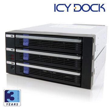 nova成功3C  ICY DOCK MB453SPF~B 3.5吋SATA內接抽取模