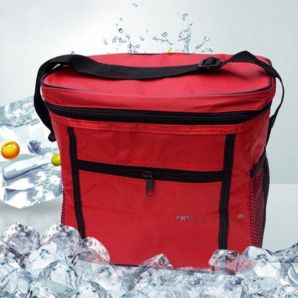 走走去旅行99750~HC110~11L牛津布肩背保溫保冰袋 手提生鮮食品保溫袋保冷袋 野