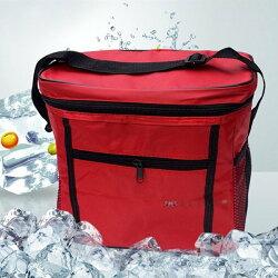 牛津布11L肩背保溫保冰袋 手提生鮮食品保溫袋保冷袋 野餐包 食品保鮮溫包 多色隨機【HC110】99750走走去旅行