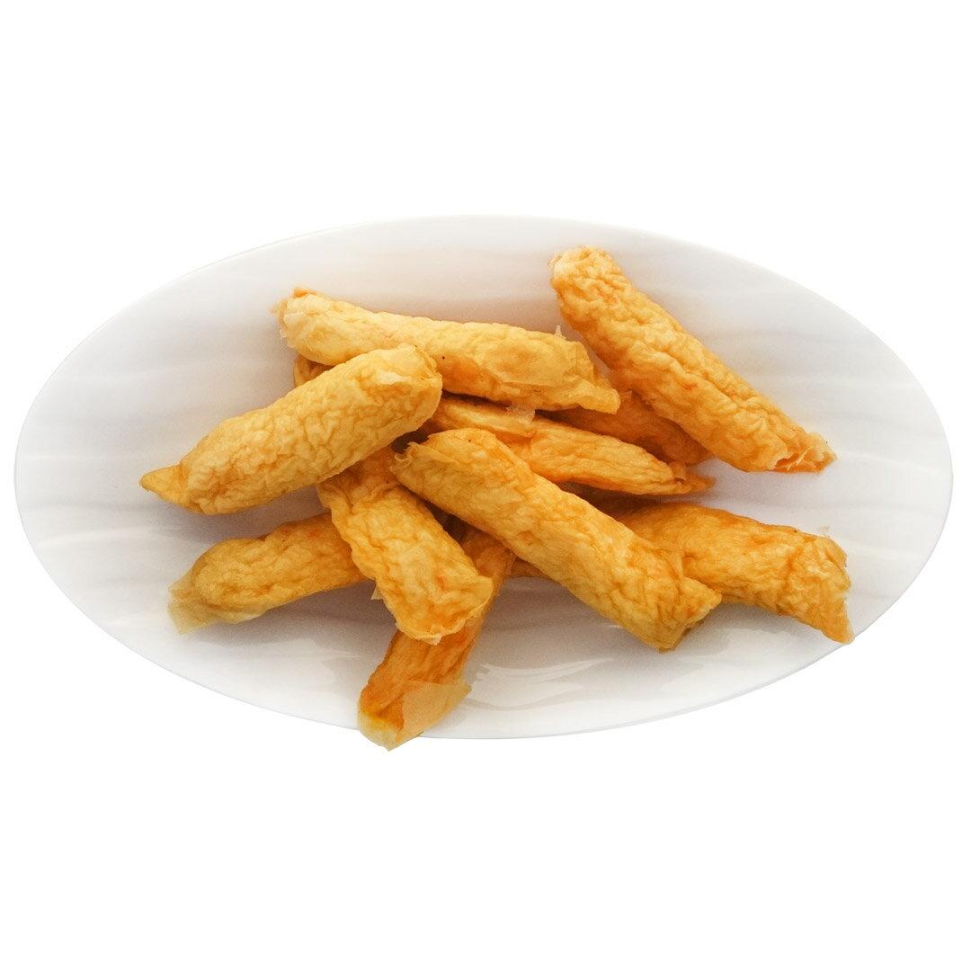慈蓮齋 蝦米捲 蛋奶素 300g/半台斤(約10條) 【素食王國】