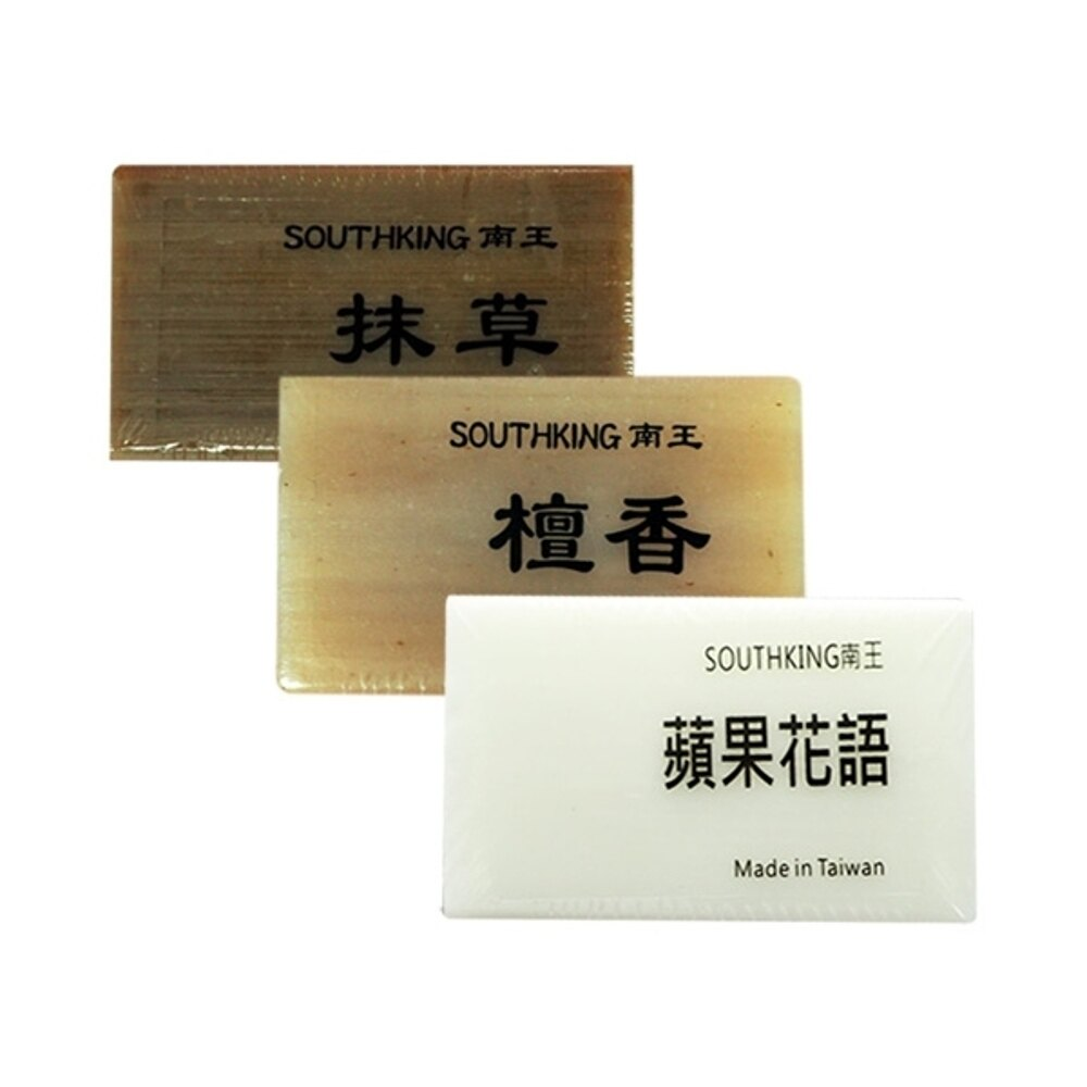 南王 抹草皂/檀香皂/蘋果花語皂(100g) 3款可選【小三美日】沐浴肥皂◢D100018