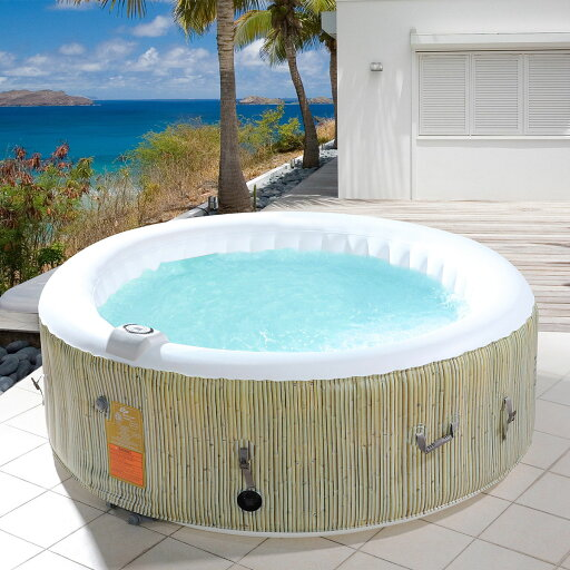 4-6 Person Inflatable Hot Tub Jets Massage Spa