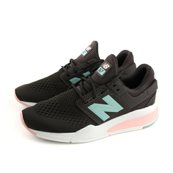 NEWBALANCE247系列運動鞋復古鞋女鞋深咖啡色WS247FD-Bno478