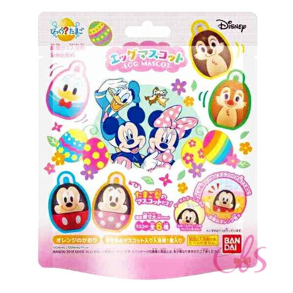 日本迪士尼沐浴球泡澡球內附小公仔共6款隨機☆艾莉莎ELS☆