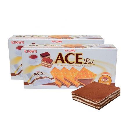 優龍【ACE】提拉米蘇夾心餅乾1盒 【合迷雅好物商城】