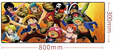【憶童趣】動漫 海賊王 創意超大滑鼠墊 80x30