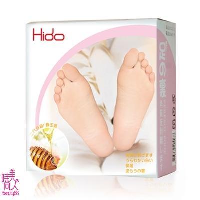 71484 【日本HIDO】 蜂王漿乳酸煥膚足膜(4雙/盒)