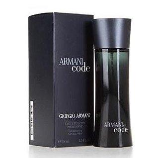 香水1986☆Giorgio Armani Code 亞曼尼黑色密碼男性淡香水 香水空瓶分裝 5ml