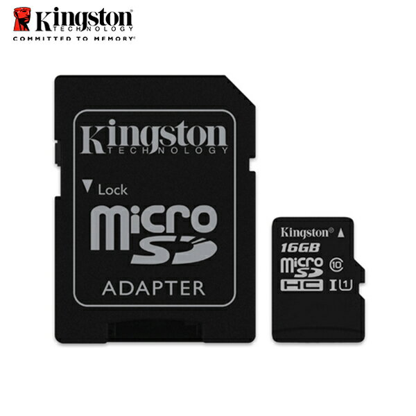 金士頓 16GB Kingston microSDHC Class10 記憶卡  貨