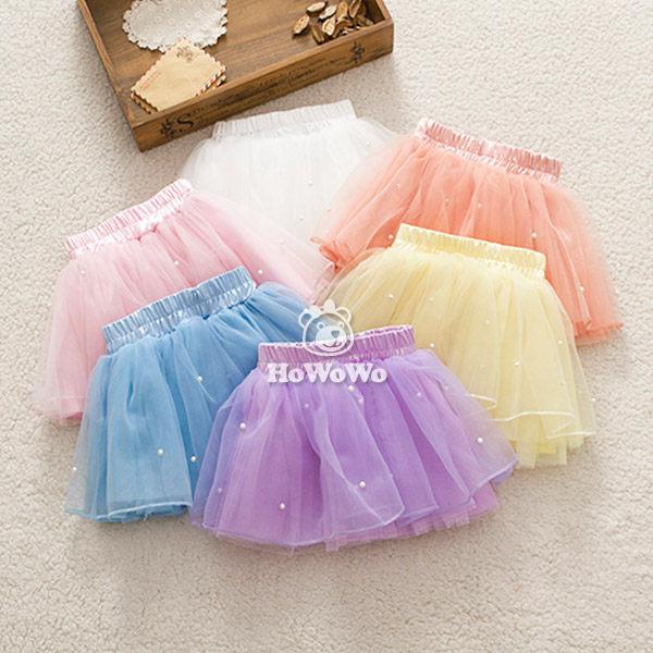 短裙 小公主紗紗裙 舞裙 蛋糕裙 珍珠蓬蓬裙 CA31929 好娃娃