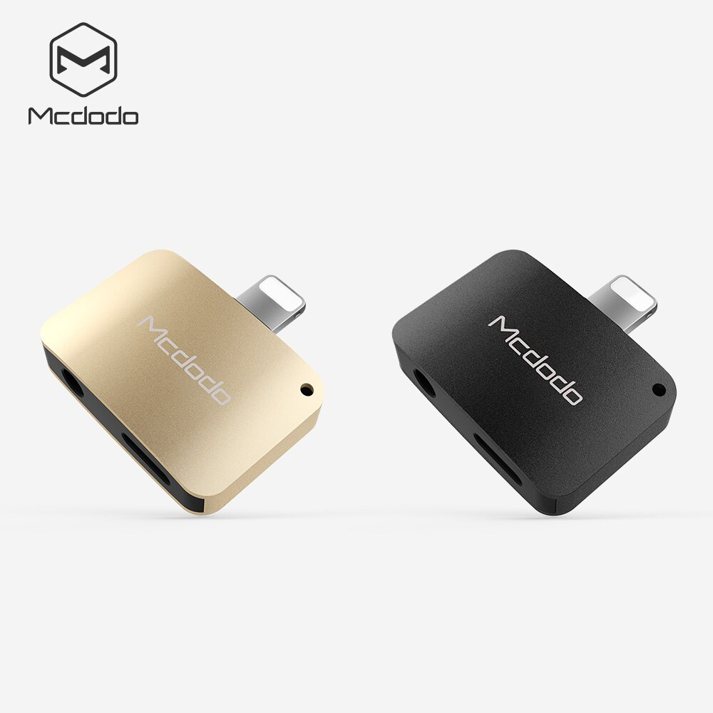 【Mcdodo】Apple iPhone7 / 7 Plus Lightning 8 pin to 3.5mm ?耳機轉接頭 充電頭手機轉3.5mm (CA-381)