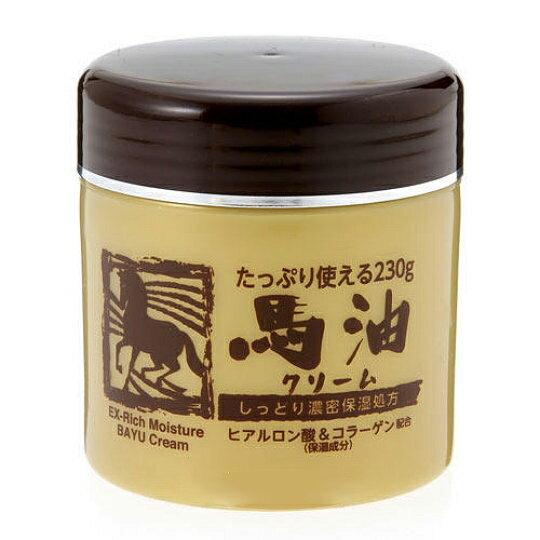 【晨光】日本原裝進口 馬油濃密保濕霜 230ml(006953)【現貨】