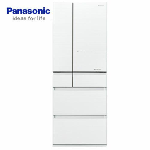 【夏日有禮賞】Panasonic 國際 NR-F503HX-W1 500L 六門冰箱 翡翠白 邊框玻璃系列 ECONAVI 智慧節能科技+nanoe™ X 健康科技